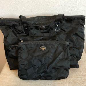 2 in 1 Black Coach Bags